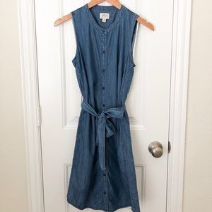 J.Crew Denim Dress Size XS